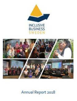 Annual Report For 2018 1